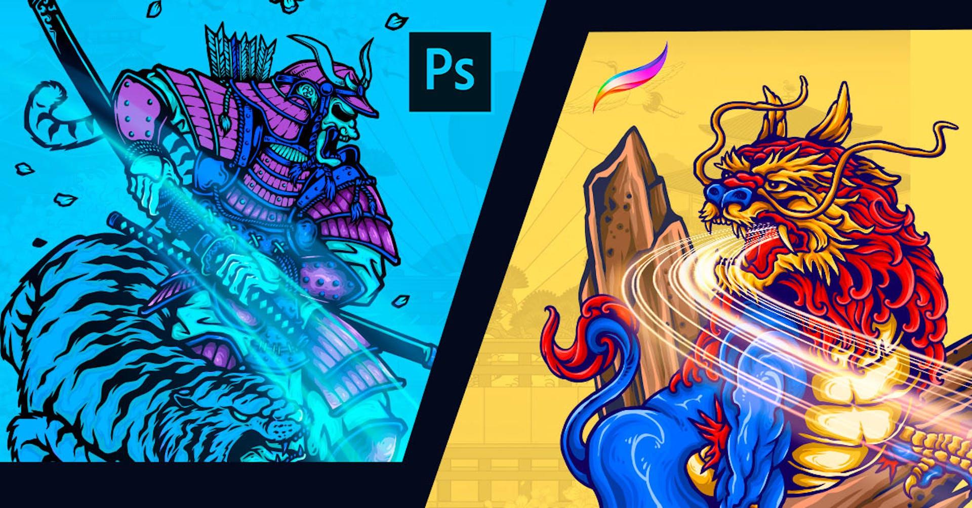 Pelea de programas para ilustrar: Descubre el software para ti