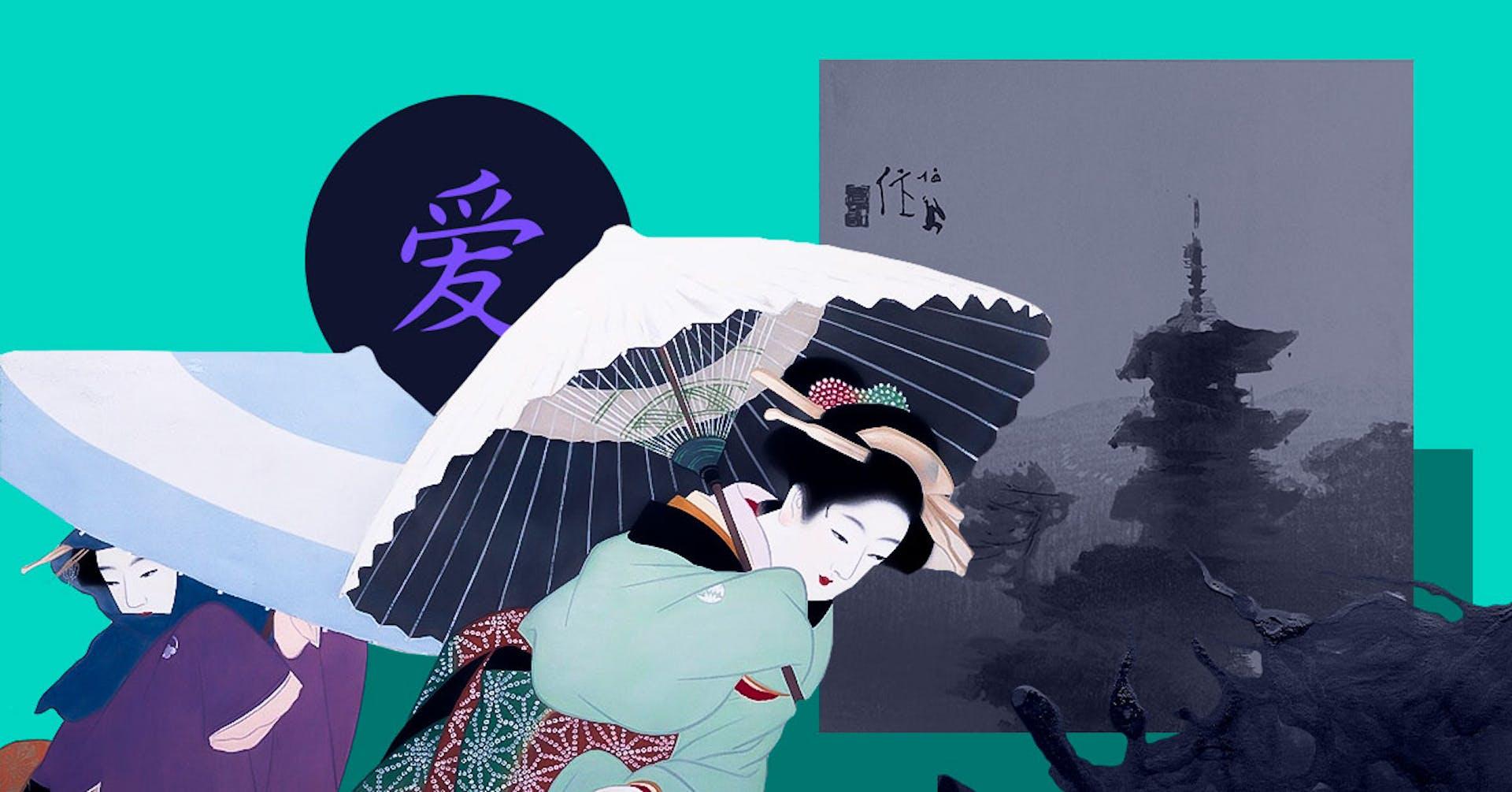 Nihonga e, la pintura japonesa: técnicas y estilos