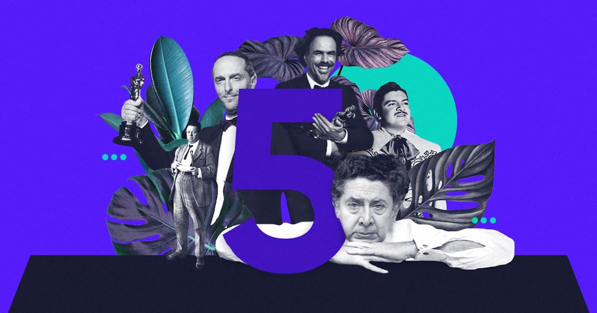 20 artistas mexicanos que inspiraron al mundo y superaron fronteras