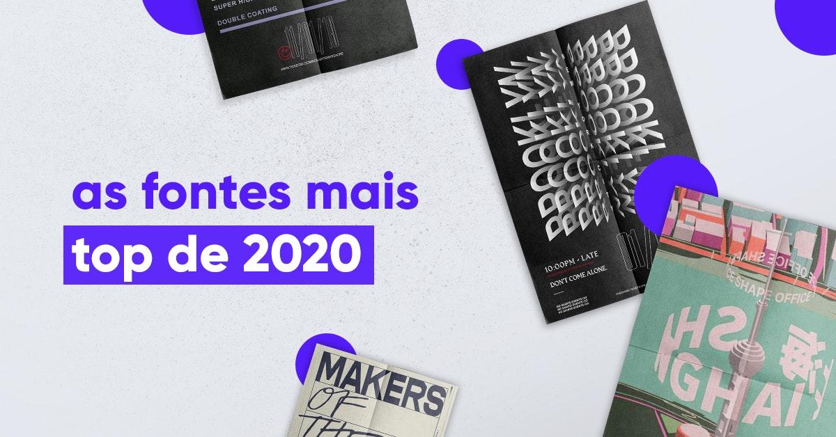 Os 25 tipos de letra mais aclamados em 2020