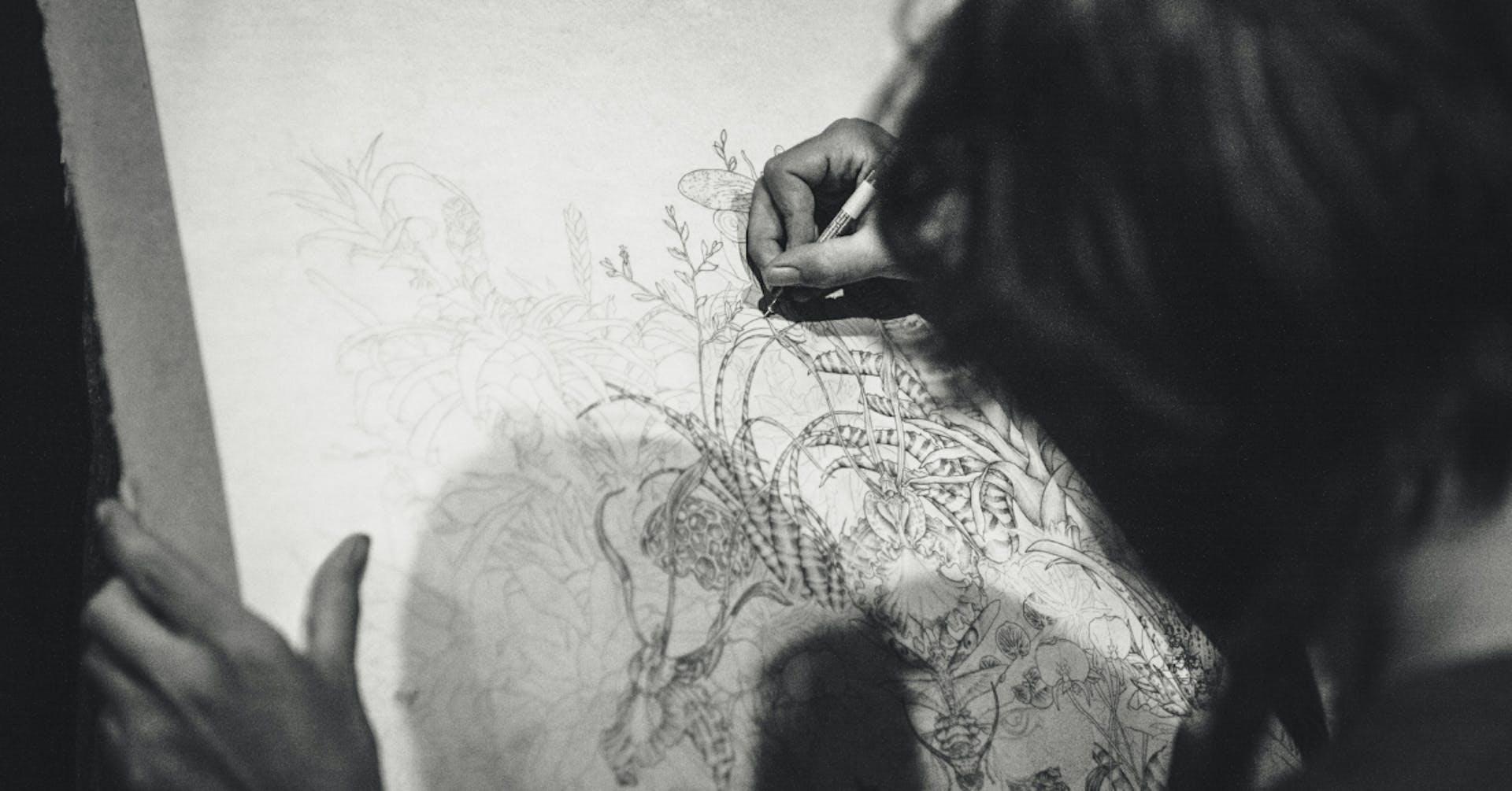 Escala de grises en dibujo: los consejos que tanto buscabas
