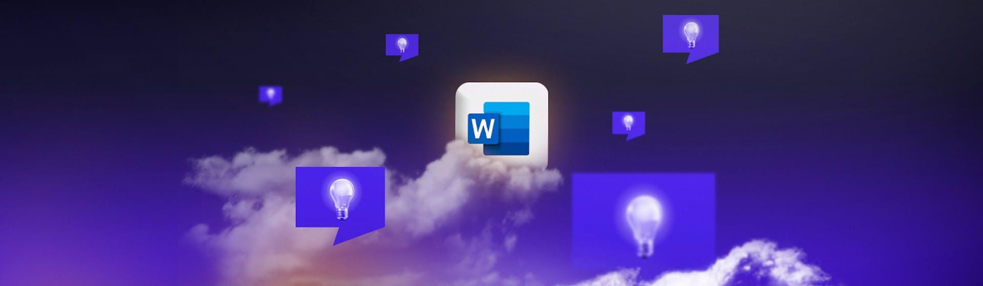 ¿Cómo hacer una lluvia de ideas en Word y conseguir proyectos ganadores?