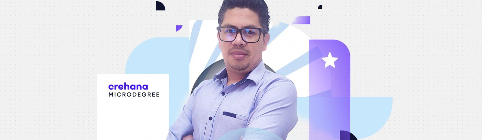 Jhony Villacis, un apasionado por el aprendizaje que potenció su emprendimiento y consiguió el cargo de sus sueños