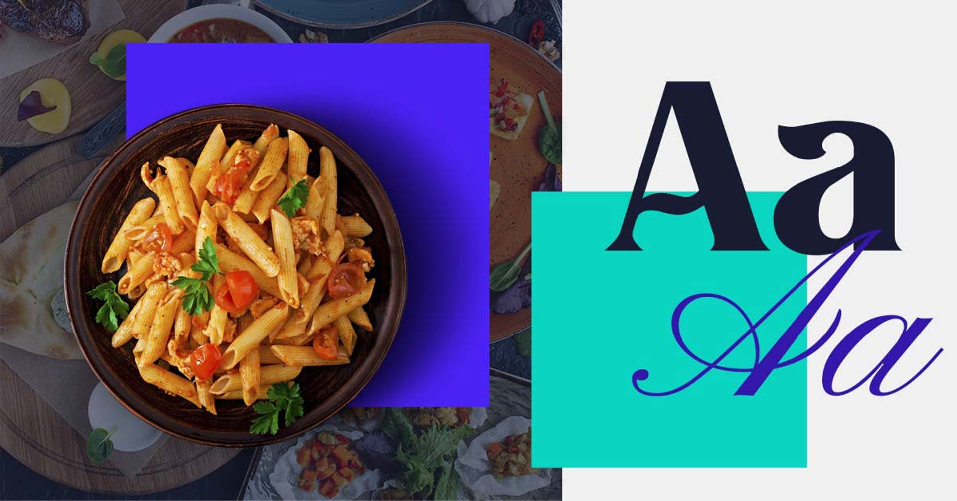 +55 tipografías para restaurantes que te harán agua la boca