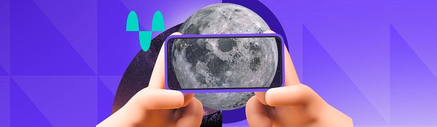 12 tips para tomar fotos a la luna con tu celular sin terminar con un punto blanco