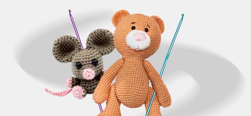 Aprende cómo hacer amigurumis y crea tu propio zoológico en crochet