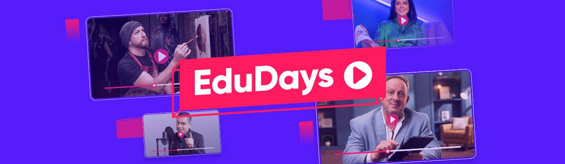 EduDays Crehana ¡2 semanas para potenciar tu aprendizaje al máximo!
