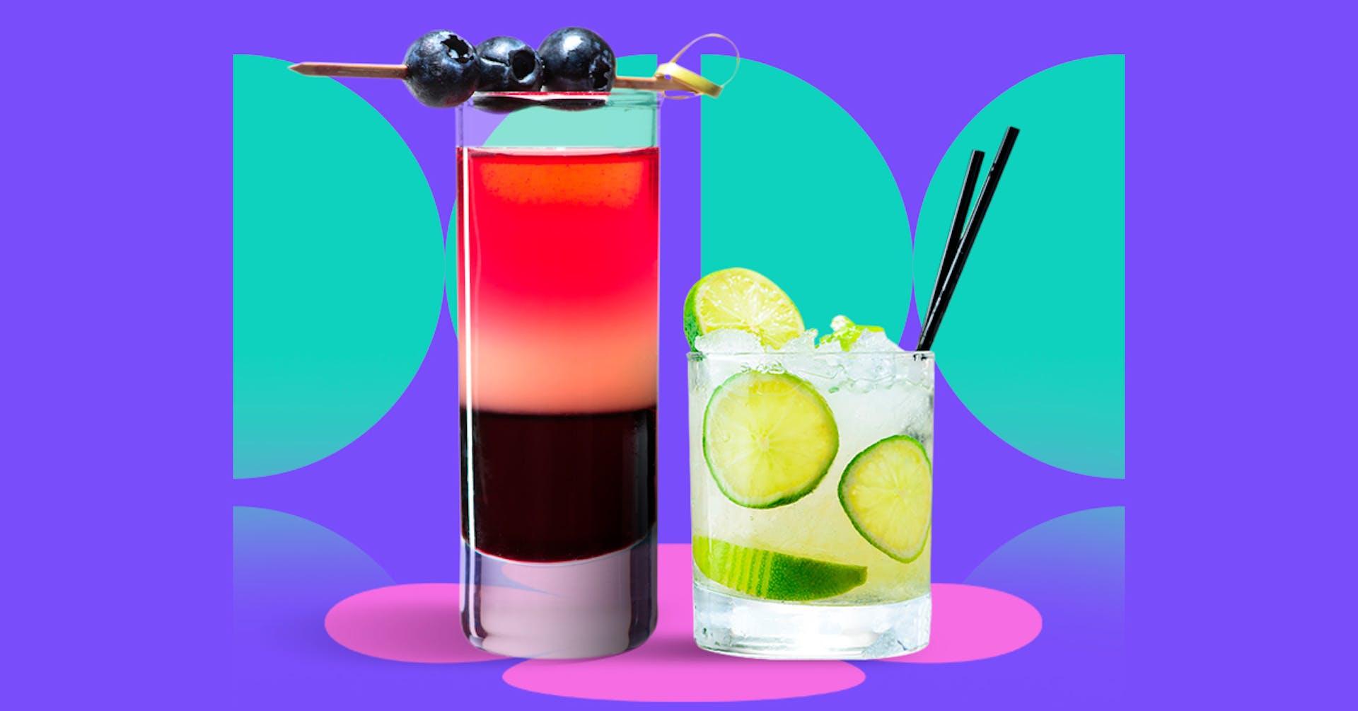 Descubre qué tipos de cócteles existen y aprende a crear las bebidas más creativas