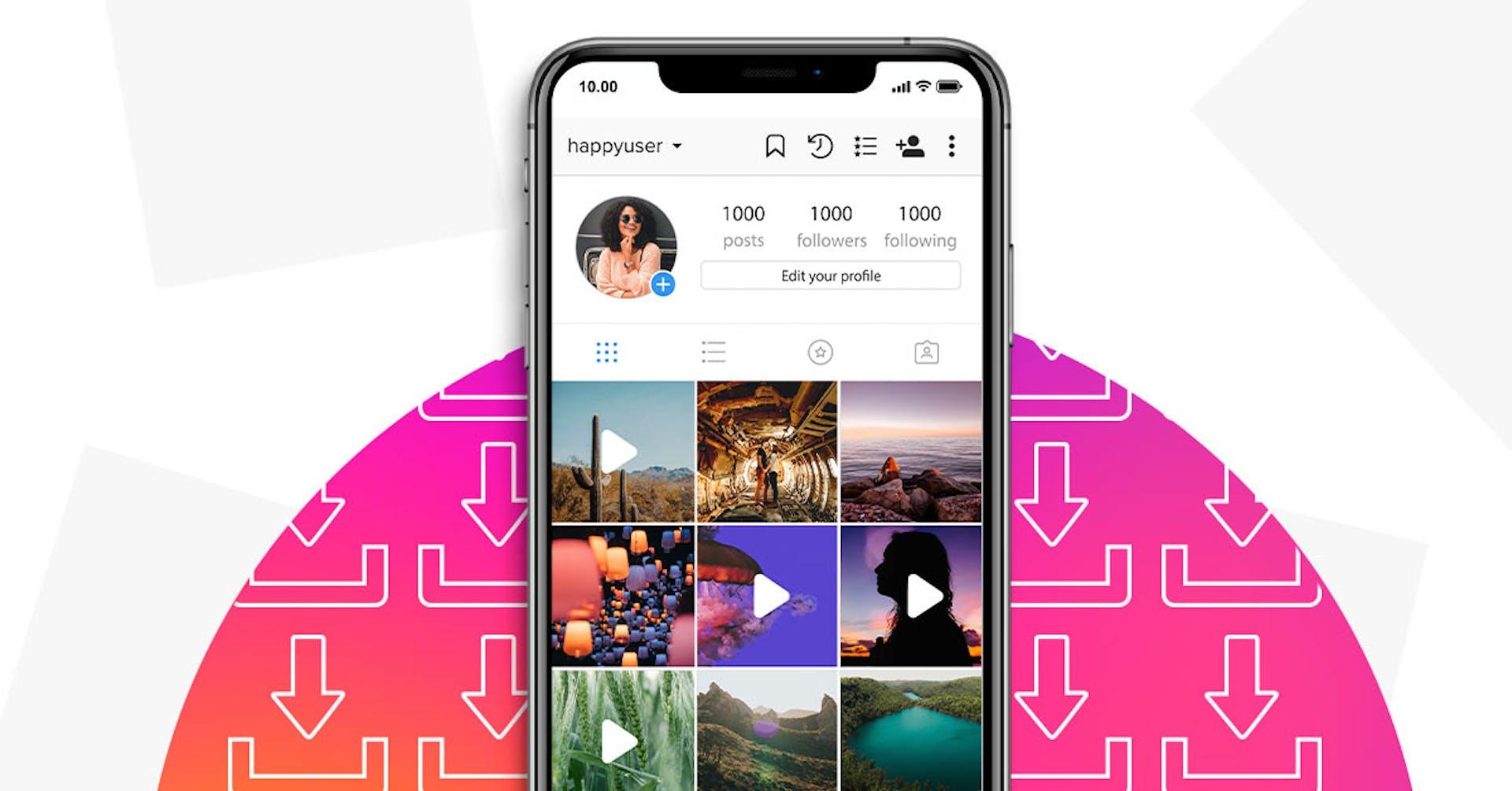 Os 11 melhores aplicativos para baixar vídeos gratuitos do Instagram
