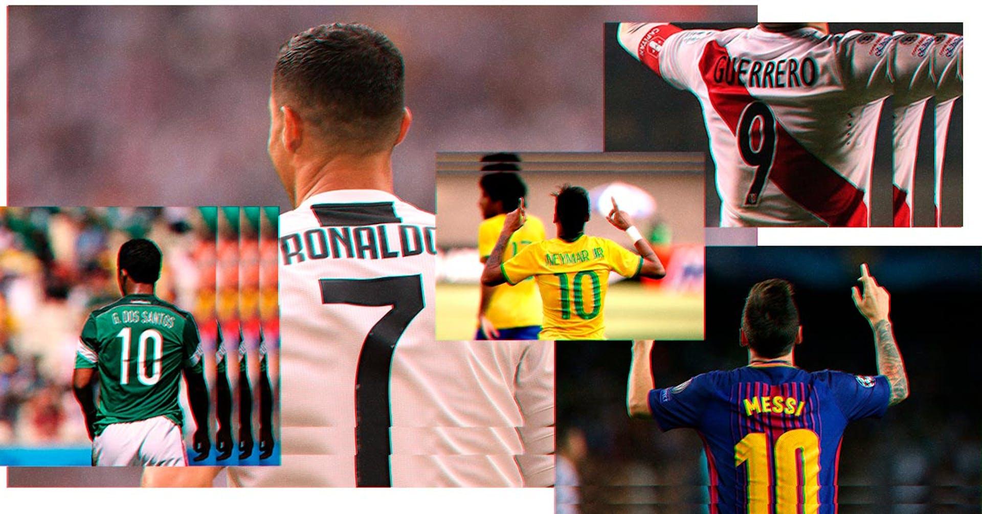 ¿Qué tipografía usa la playera de Messi y otros equipos de fútbol?