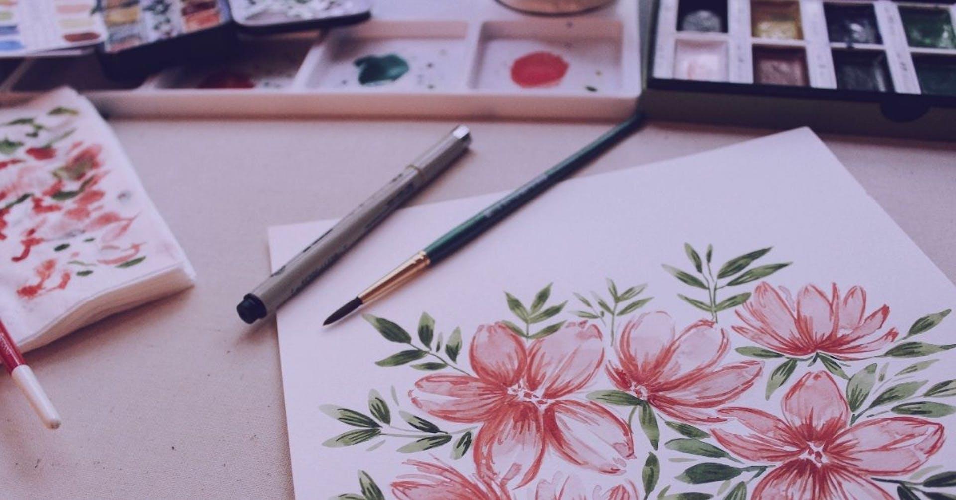 ¿Cómo dibujar con acuarelas? El arte que te hará sentirte un verdadero Picasso