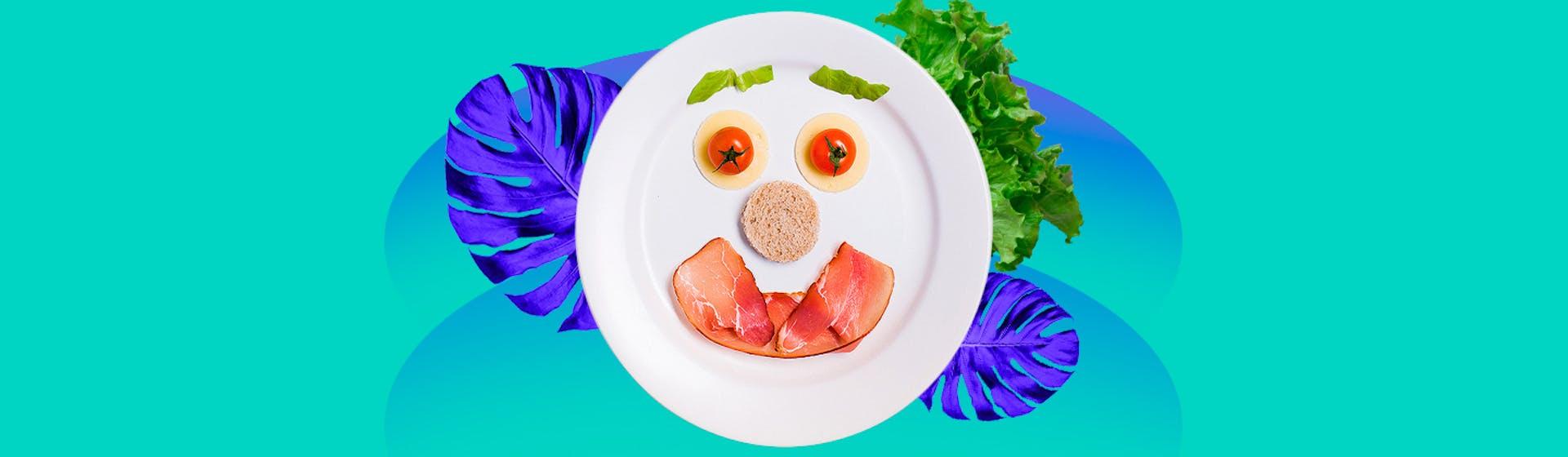 Plato del buen comer: guía para comer sano y no extrañar el tocino